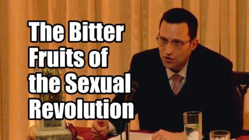 Professor Stéphane Mercier spoke out against abortion at the Tradition, Family, Property Washington Bureau.