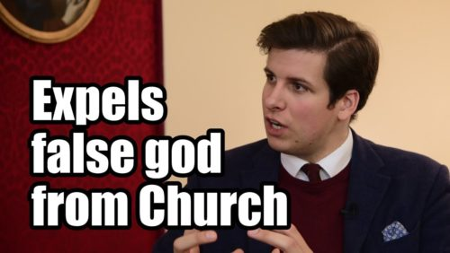 Alexander Tschugguel, a brave 26-year-old Catholic from Austria and convert to the Catholic Faith, granted TFP Student Action an exclusive interview about his decision to throw five pagan Pachamama idols into the Tiber River on the morning of Oct. 21, 2019.  To the dismay of the faithful, the pagan indigenous idols were used during Vatican ceremonies surrounding the Pan-Amazonian Synod in Rome.  Mr. Tschugguel's prayerful action to remove the idols from the Church of Santa Maria in Traspontina attracted worldwide attention, including the praise of numerous Catholic prelates. Pope Francis was apparently not pleased with the removal of the idols.   #Pachamama #ChurchCrisis Download the show audio: https://tfpsa.podbean.com/  Interview topics: 00:00 Introduction 0:38 Amazon Synod 2:44 Paganism vs. Catholicism  05:34 Paganism put on the same level as Christianity 10:43 Mr. Tschugguel's decision to expel the Pachamamas 17:13 Expelling the Pachamama idols 21:20 The good reaction of the Catholic faithful 26:33 Lining up the Pachamamas and kicking them into the Tiber 28:01 Done under the patronage of St. Michael 29:16 Faithful Catholics need not fear   Site:  https://www.tfpstudentaction.org/ Instagram: https://www.instagram.com/tfpstudentaction/ Facebook: https://www.facebook.com/TFPStudentAction Twitter: https://twitter.com/tfpsa