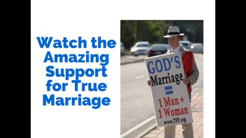 Everywhere -- Americans are unhappy with the Supreme Court. We will not allow true marriage to be destroyed.  Share the video. See for yourself how people received the latest TFP tour for marriage in the South.  http://www.tfpstudentaction.org/what-we-do/street-campaigns/front-line-for-gods-marriage-in-texas-louisiana.html