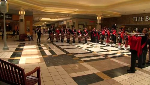 Patriotic students observe Memorial Day with a flash mob band performance at the mall. http://www.tfpstudentaction.org/  Connect with us:  http://www.facebook.com/TFPStudentAction https://twitter.com/tfpsa http://www.tfpstudentaction.org/