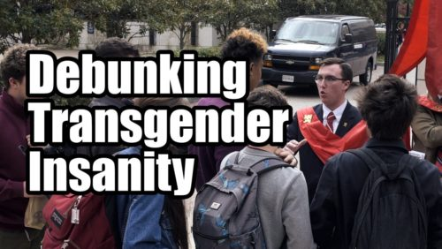 Men are men.  Women are women.  That reality is now rejected. But where will this insanity lead America?   https://www.tfpstudentaction.org/