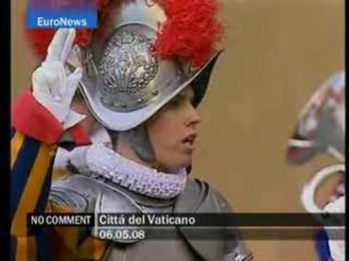 Traditional swearing-in day for new recruits of the Pontifical Swiss Guard