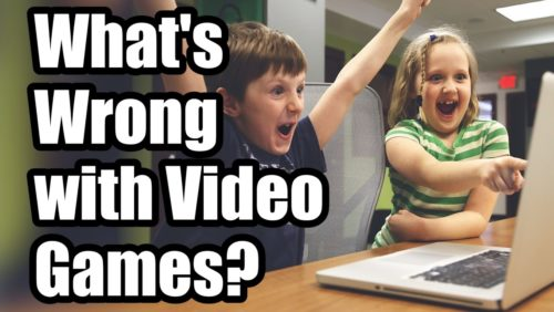 What's wrong with video games? Find out in this article: https://www.tfpstudentaction.org/blog/whats-wrong-with-video-games   Attributions: 1. Harlequin by Kevin MacLeod is licensed under a Creative Commons Attribution license (https://creativecommons.org/licenses/by/4.0/) Source: http://incompetech.com/music/royalty-free/index.html?isrc=USUAN1100635 Artist: http://incompetech.com/   2. Classic Horror 1 - Dark World by Kevin MacLeod is licensed under a Creative Commons Attribution license (https://creativecommons.org/licenses/by/4.0/) Source: http://incompetech.com/music/royalty-free/index.html?isrc=USUAN1100471 Artist: http://incompetech.com/